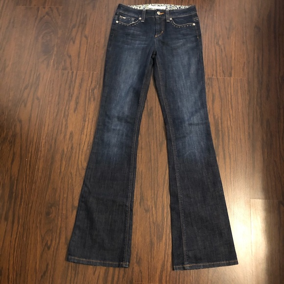 joe's jeans muse fit slim flare size 24